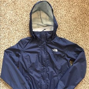 The North Face women's rain jacket